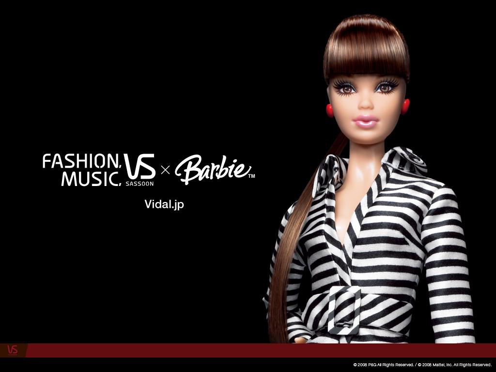 Barbie News ヴィダルサスーン バービー壁紙